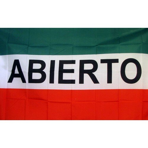 Abierto Traditional Flag by NeoPlex