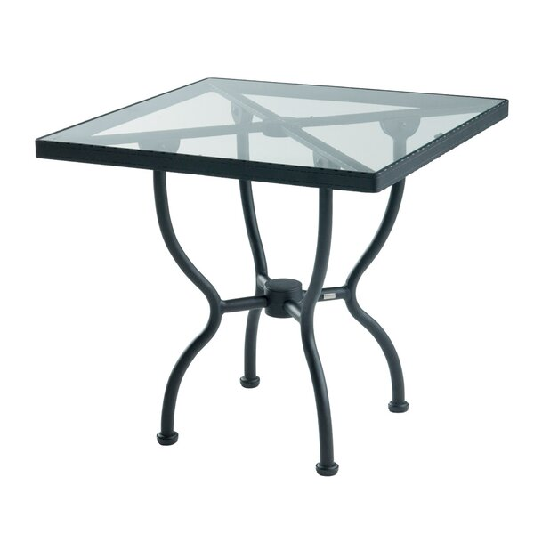 Aikens Glass Bistro Table By One Allium Way by One Allium Way New