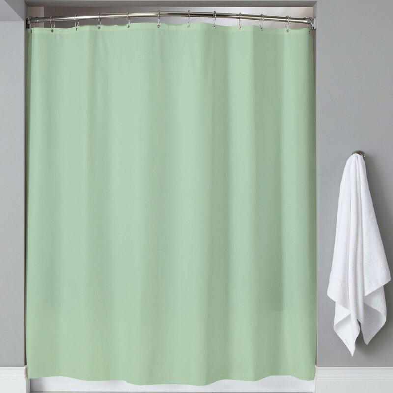 Highland Dunes Carthage 6 Gauge Hotel Weight Vinyl Shower Curtain