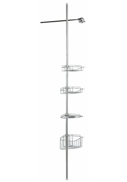 Seiter Corner Shower Caddy by Latitude Run