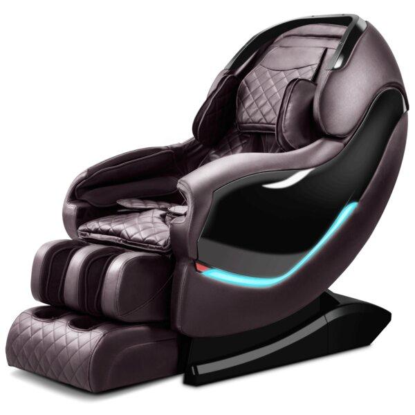 RL900 3D Sl-Track Reclining Adjustable Width Heated Full Body Massage Chair By Latitude Run