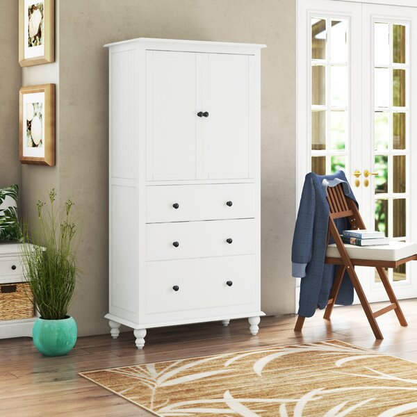 Dania Armoire by Rosecliff Heights Rosecliff Heights
