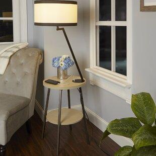 Duo Side Table Floor Lamp Wayfair