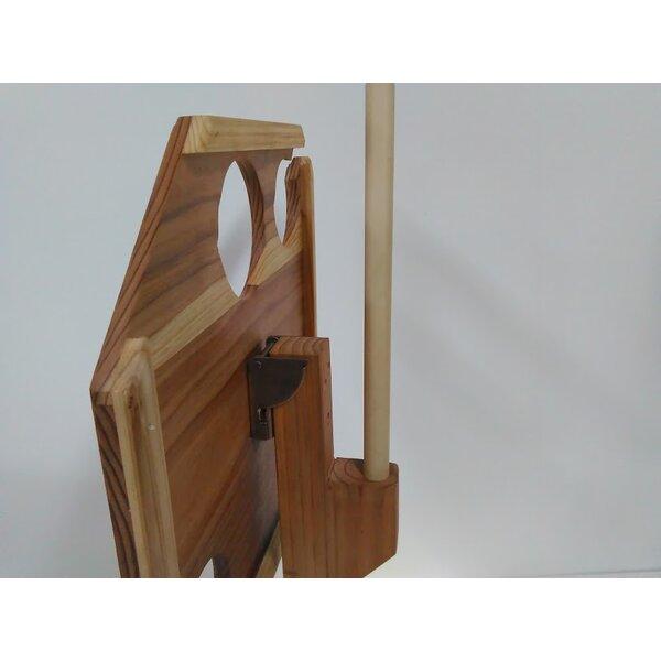 Gipe Solid Wood Bistro Table by Fleur De Lis Living