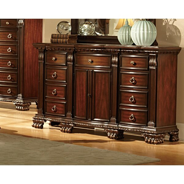 Orleans 9 Drawer Combo Dresser by Woodhaven Hill