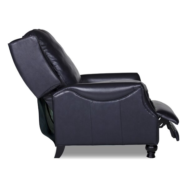 Ignatius Leather Recliner by Darby Home Co