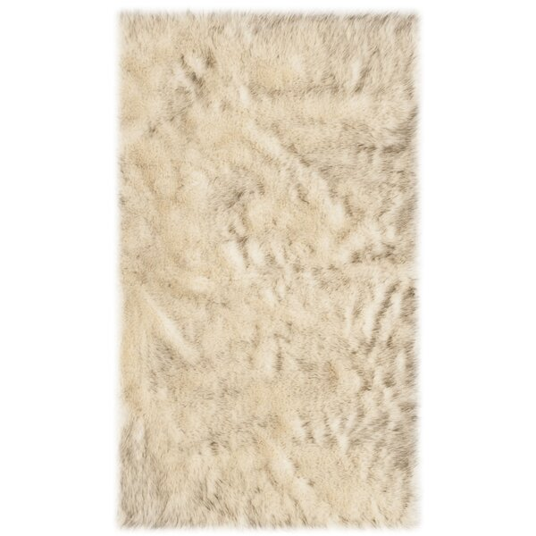 Bilberry Cream Area Rug by Mercer41