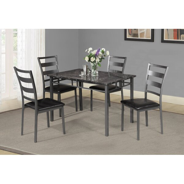 Berke 5 Piece Dining Set by Winston Porter