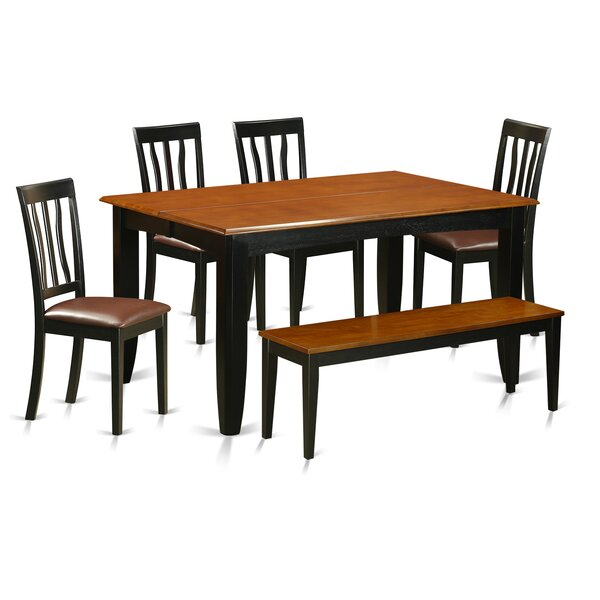 Parfait 6 Piece Extendable Dining Set by Wooden Importers