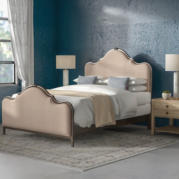 Saltville Upholstered Standard Bed by Greyleigh