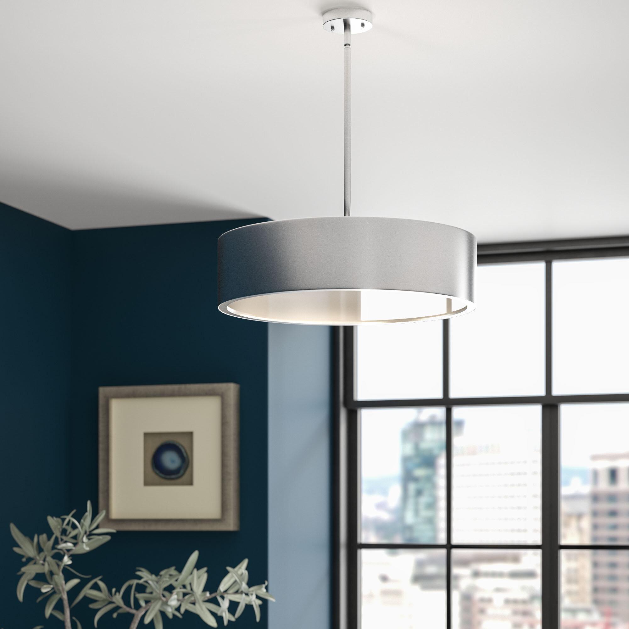 3 light pendant cluster greyleigh lindale 3light pendant reviews wayfair