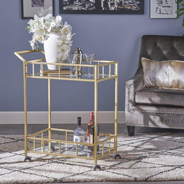 Beeler Bar Cart By Ebern Designs
