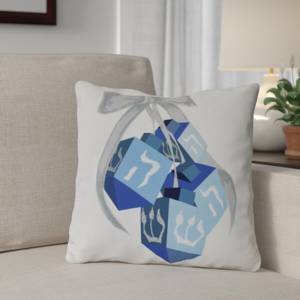 Turn, Turn, Turn Outdoor Throw Pillow by The Holiday Aisle