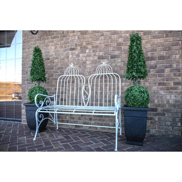 Rafferty Metal Garden Bench by One Allium Way