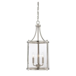 satin nickel pendants you ll love wayfair