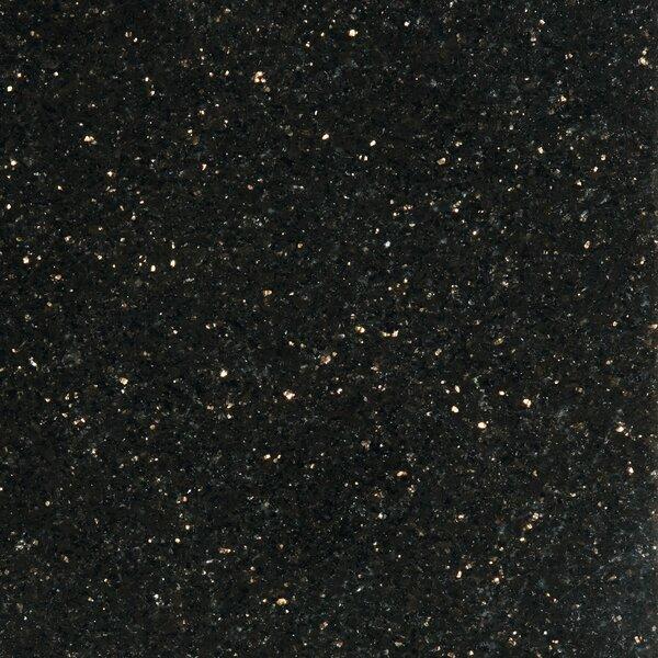 Granite 12 x 12 Tile in Galax y Black by Emser Tile