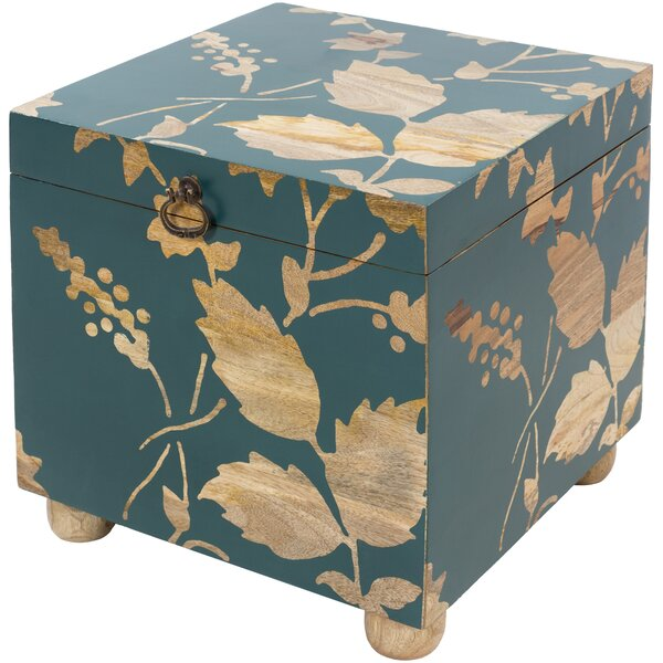 Maymie Storage Cube Ottoman By Bungalow Rose