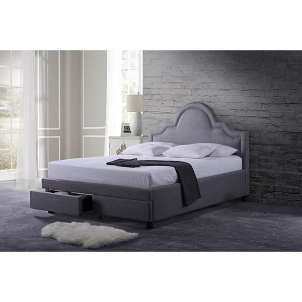 Lutton Upholstered Platform Bed with Storage by Everly Quinn