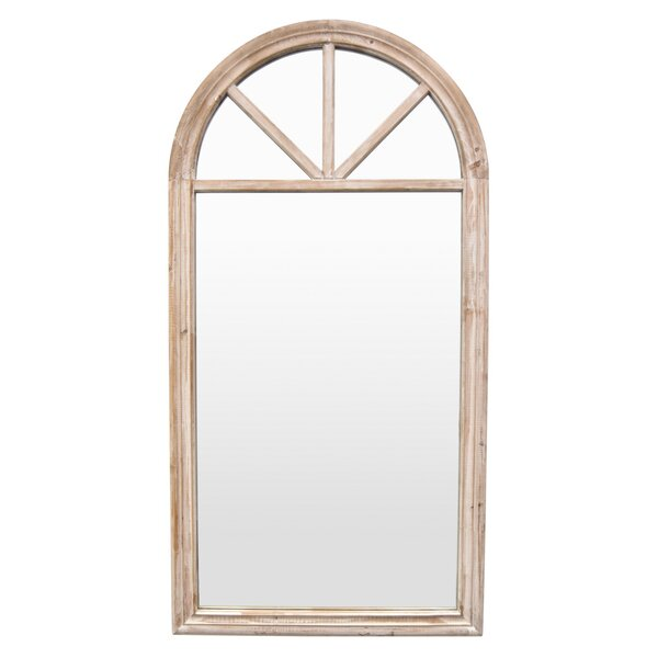 Thorin Wood Accent Mirror by Gracie Oaks