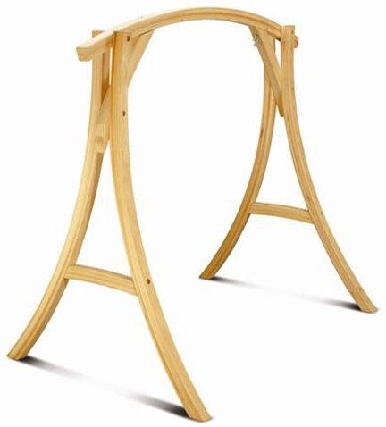 Roman Arc Cypress Porch Swing Stand by Darby Home Co