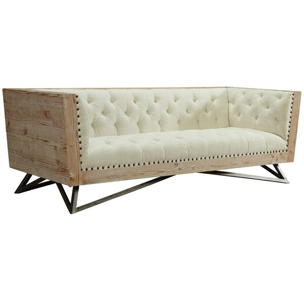 Klahn Chesterfield Sofa by Everly Quinn