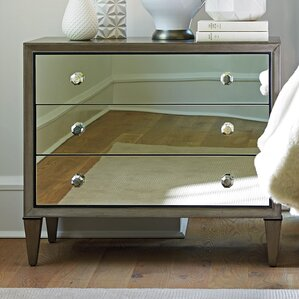 Ariana Divonne 3 Drawer Nightstand by ..