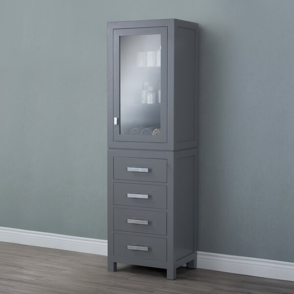 Crisler 21 W x 72 H Linen Tower