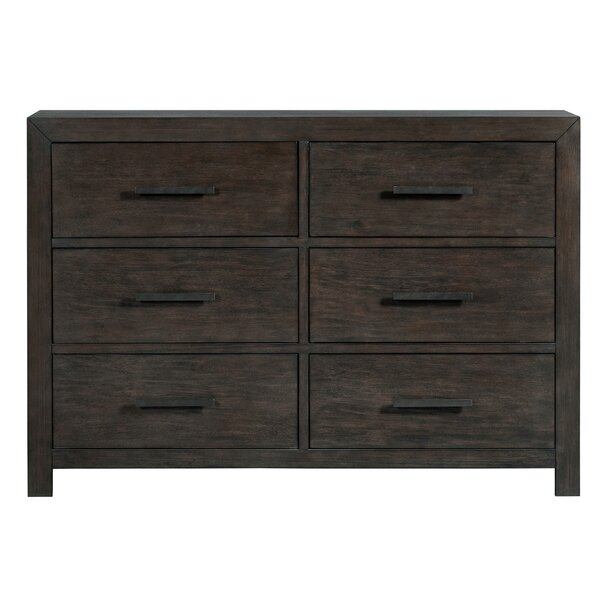 Mccorkle 6 Drawer Double Dresser by Gracie Oaks