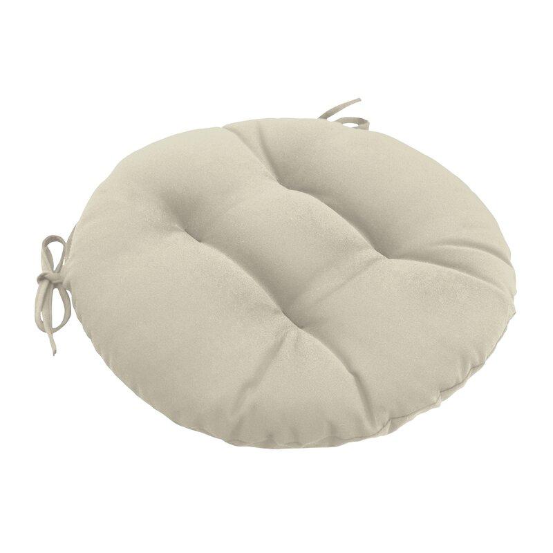 Wayfair Custom Outdoor Cushions Outdoor Round Dining Chair Cushion Reviews Wayfair
