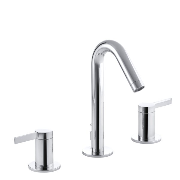 Stillness Widespread Bathroom Faucet with Drain Assembly by Kohler