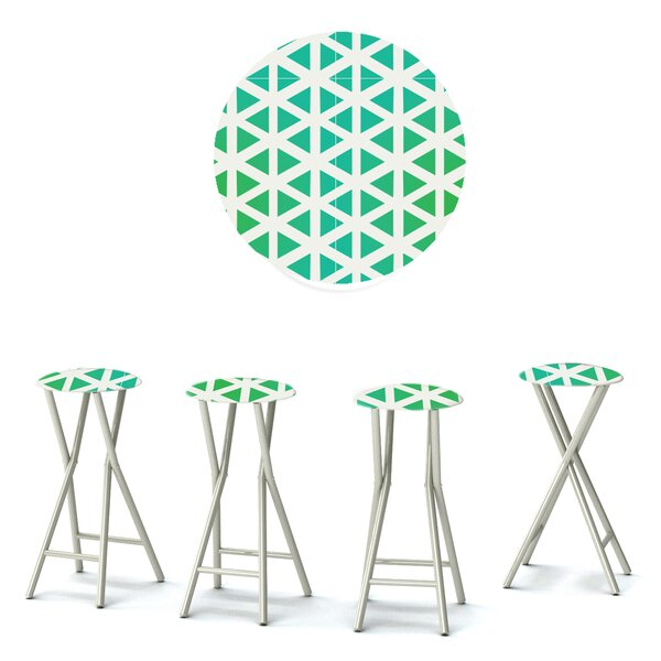 30 Patio Bar Stool with Cushion (Set of 4) by Best of Times