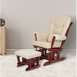 Sleigh Glider and Ottoman AFG Baby Furniture