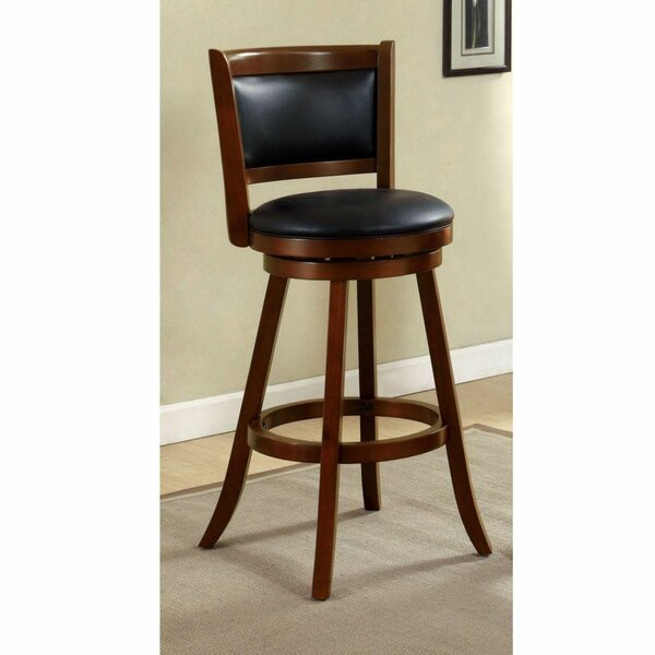 Makenzie Swivel Bar Stool by Loon Peak