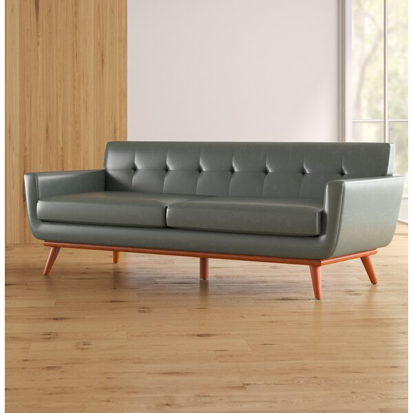 Huntsville Leather Sofa by Corrigan Studio