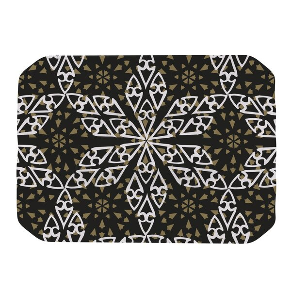 Ethnical Snowflakes Placemat by KESS InHouse