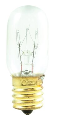 Tubular 15W Incandescent Amusement and Appliance Bulb (Set of 30) by Bulbrite Industries