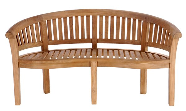 Peanut Teak Garden Bench by Chic Teak