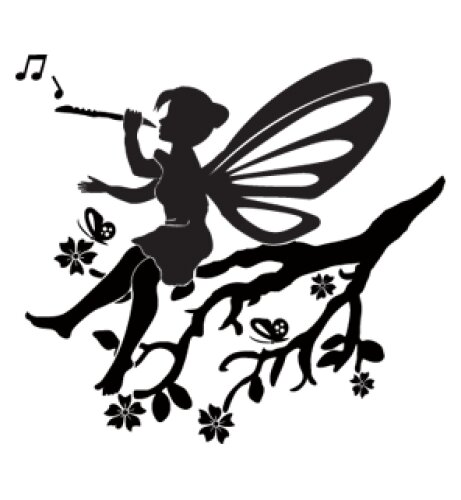 Little Fairy Wall Decal by Style and Apply
