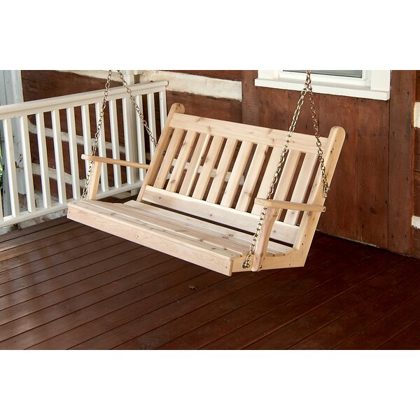 Wym Porch Swing by Millwood Pines