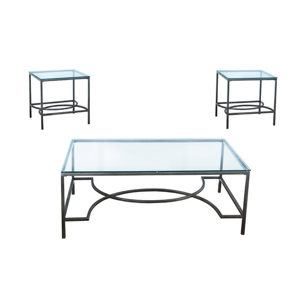Maxeys 3 Piece Occasional Coffee Table Set by Ivy Bronx Ivy Bronx