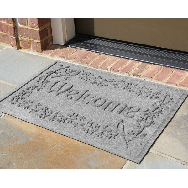 Shield Bird on a Branch Welcome Doormat by Bungalow Flooring