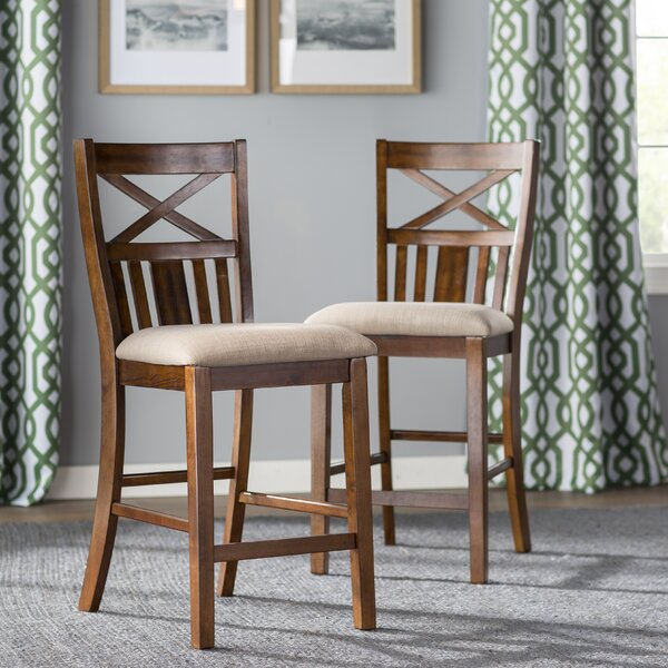 Bryson Solid Wood Dining Chair (Set of 2) by Loon Peak