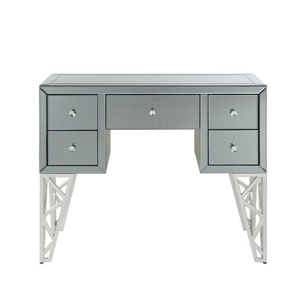 Nash 5 Drawer Console Table By Everly Quinn