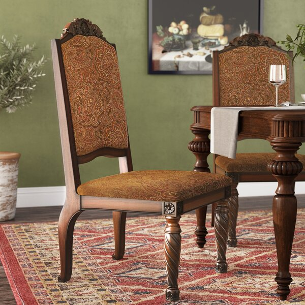 Castlethorpe Upholstered Dining Chair (Set of 2) by Astoria Grand