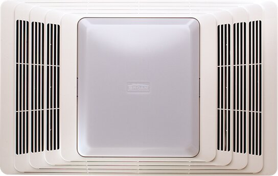 50 CFM Bathroom Fan and Heater with Light by Broan