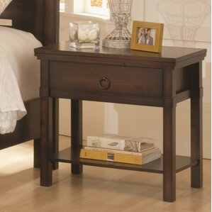 Hudson Valley 1 Drawer Nightstand by Wildon Home ?