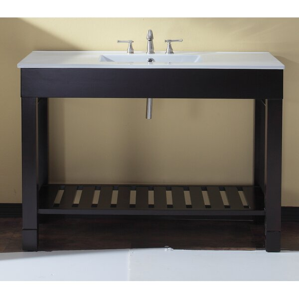 Bozeman 49 Single Bathroom Vanity Set by Wrought Studio
