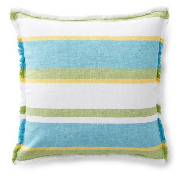 Gemma Woven Stripe Cotton Throw Pillow by Lauren Ralph Lauren