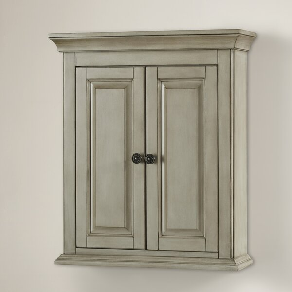 Orrick 24 W x 28 H Wall Mounted Cabinet by Beachcrest Home