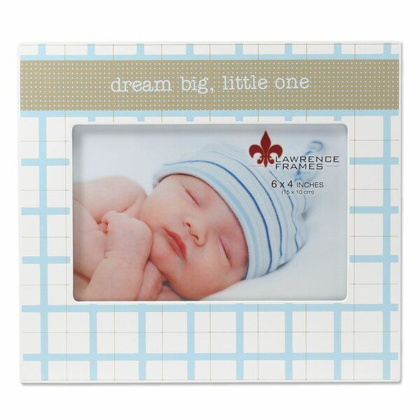 Banuelos Dream Big Little One Picture Frame by Harriet Bee